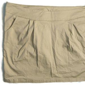 Mossimo Tan Skirt. 18